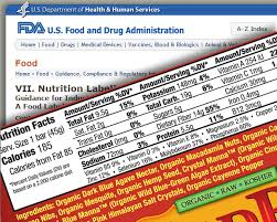 free label template for word how to make a nutrition facts label for a package download free