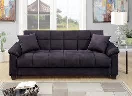 brown microfiber sofa bed ebony microfiber sofa bed futon caravana furniture