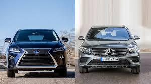 lexus vs mercedes reliability 2016 lexus rx 350 vs 2016 mercedes benz glc youtube