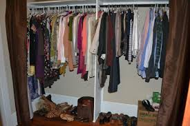 small space solutions the walk through closet little paths so