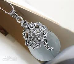 wholesale silver necklace pendants images Wholesale pendant 925 sterling silver necklace silver hang thai jpg