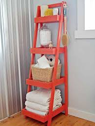 White Ladder Bookcase With Drawers by White Ladder Shelf With Baskets Popular Shelf 2017