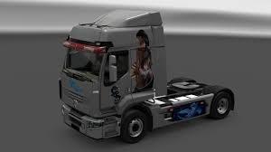 dragon truck skin for renault premium u0026 magnum ets2 ets2 mod