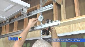 how to install garage door springs assembling the springs u0026 counterbalance system lifestyle screens