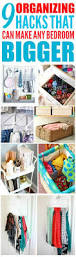Diy Bedroom Organization by Diy Organization Ideas For Small Spaces Bedroom Hacks Guys Closet