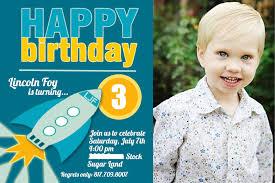 1st Birthday Invitation Card For Baby Boy 3 Year Old Birthday Invitation Wording Dolanpedia Invitations Ideas