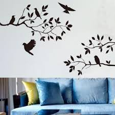 removable birds tree branches wall stickers vinyl decals art mural
