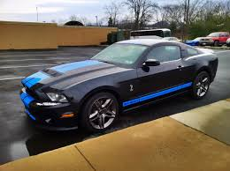 New Black Mustang Another New Black And Blue Gt500 Member The Mustang Source