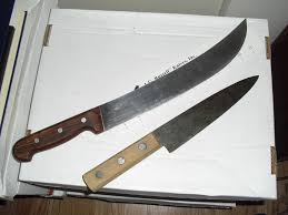 used kitchen knives fixed blades for sale bladeforums