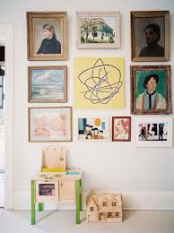 3 ways with gallery walls family living 2014 lonny