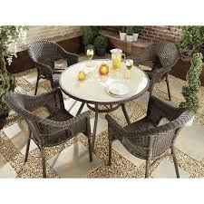 Rattan Dining Room Furniture by Plain Rattan Garden Furniture Images Milan Outdoor 6 Seater Brown