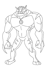 10 omniverse coloring pages
