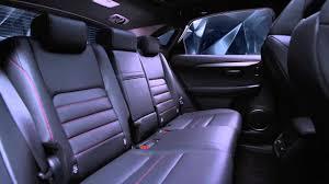 lexus nx interior back seat striking angles the new lexus nx 200t interior highlights