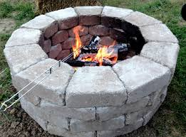 Firepit Stones Fast And Easy Pit Stones Came From Home Depot And Cost Less