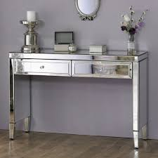 Valencia Console Table Valencia Mirrored 2 Drawer Console Table Furniture123