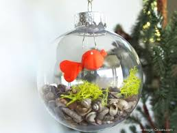 make your own goldfish ornament christmasornaments