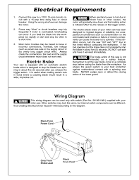 electrical requirements electric brake wiring diagram bosch