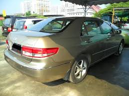 kereta honda civic kereta untuk di jual honda accord 2 0l a i vtec 2006