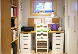 Desk  Cheerful Simple Work Space Design Ideas With Colorful Desk - Work table design plans