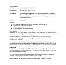 report to senior management template executive assistant description template 8 free word pdf