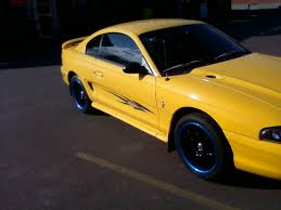 Mustang Yellow And Black New Xxr Rims On My 98 Stang Ford Mustang Forum
