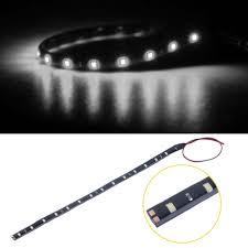 waterproof 30cm 15 led car lighting flexible decorative light