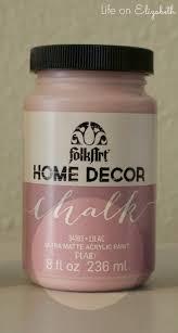 Folk Art Home Decor Chalk Life On Elizabeth U0027folkart Home Decor Chalk U0027 Paint Review