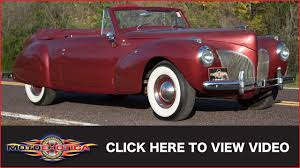 1941 lincoln continental convertible sold youtube