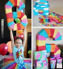 my pony pinata trend alert my pony rainbow party design tips part 1