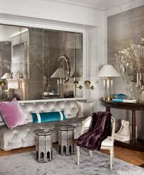 kris jenner home interior living room mirrored tile wall dhong interior design ideas how