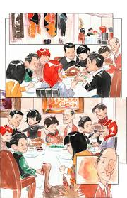 a bat family thanksgiving dustin nguyen gotham knights