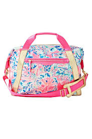 Lilly Pulitzer Rug Lilly Pulitzer Sunseekers Travel Tote Bag From Sandestin Golf And