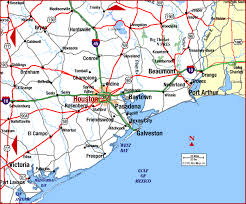 houston map of road map of houston beaumont houston aaccessmaps