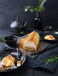 cuisiner la poir bûche vanille poire noisette 100 vegetal cuisine vegan et poires
