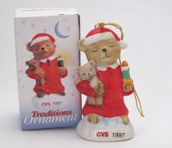 vintage 1997 cvs pharmacy traditions ornament for the holidays