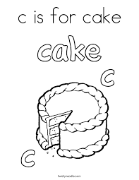 cupcake coloring pages to print c is for cake coloring page twisty noodle