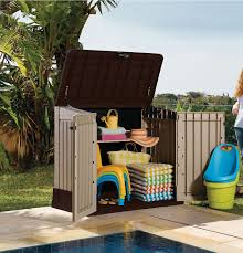 Suncast Resin Glidetop Outdoor Storage Shed by Review Of Keter Store It Out Midi Outdoor Resin Horizontal Storage