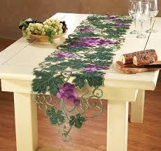 tuscan decor elegant grapevine grape table runner ebay everything