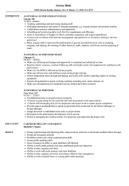 resume templates janitorial supervisor memeachu janitorial supervisor resume sles velvet jobs