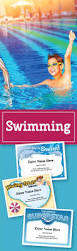 free printable swimming certificates and awards sports awards