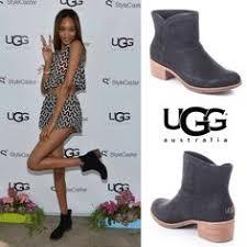 s ugg australia nubuck boots rosie huntington whiteley spotted wearing ss16 ugg kari