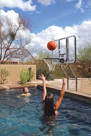 Backyard Pool And Basketball Court 22 Best Pool Basketball Images On Pinterest Backyard Ideas