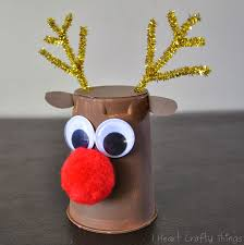 rudolph reindeer craft i heart crafty things