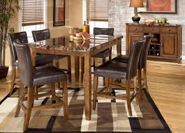 Dining Room  Modern Counter Height Dining Table Beautiful Tall - Tanshire counter height dining room table price