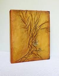 Travel Photo Album 4x6 Photo Album 4x6 Burgundy Leather Album Ooak Tree Of Life Gift