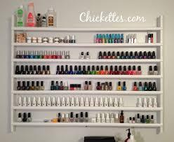 custom nail polish rack images
