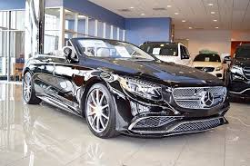 mercedes s 65 amg 2017 mercedes s class s 65 amg cabriolet in fairfield