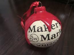makers mark bourbon whisky christmas ornament kentucky