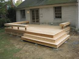 Build Deck Bench Seating 98 Best Deck Design Images On Pinterest Outdoor Ideas Backyard
