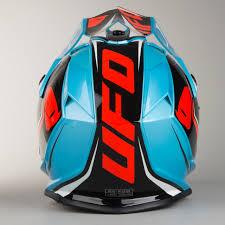 ufo motocross gear ufo onyx speeder helmet black blue red quick dispatch 24mx
